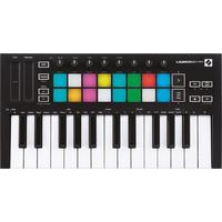 Novation Launchkey Mini MK3 25-Key USB Keyboard Controller (Black)