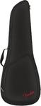 Fender FU610 Concert Ukulele Padded Gig Bag (Black)
