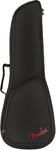 Fender FU610 Soprano Ukulele Padded Gig Bag (Black)