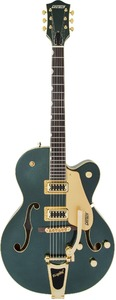 Gretsch G5420TG Limited Edition Electromatic Hollow Body Electric Guitar (Cadillac Green) - Cover