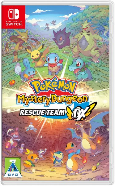 Pokémon Mystery Dungeon: Rescue Team DX (Nintendo Switch)