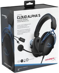 HyperX - Cloud Alpha S - Gaming Headset - Blue (PC/Gaming)