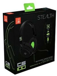Stealth - ABP C6-100 Multi-Format Headset - Green (PC/Gaming)