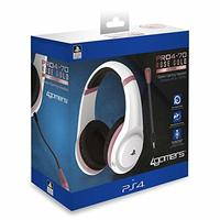 4Gamers - ABP PRO4-70 Rose Gold Headset - White (PS4)