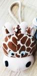 Dog's Life Giraffe Head Rope Toy
