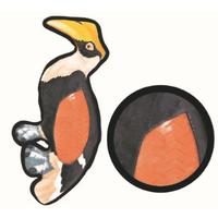 Dog's Life - Toucan Plush Toy with Squeaker (18 X 38cm)