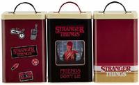 Stranger Things - Retro Logo Kitchen Storage Set - Cover