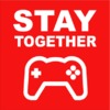 Stay Together Mens T-Shirt Red (Medium)