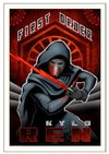 Star Wars: The Force Awakens - First Order Ren Paper Giclee Art Print