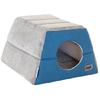 Rogz - Cuddle Igloo Cat Pod - Blue (Small)