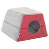 Rogz - Cuddle Igloo Cat Pod - Red (Small)
