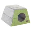 Rogz - Cuddle Igloo Cat Pod - Green (Small)