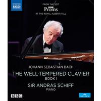 J.S. Bach / Schiff - Well-Tempered Clavier Book I (Region A Blu-ray)