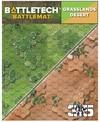 Battletech - Battle Mat - Grasslands / Desert (Miniatures)