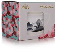 Disney's Mulan - Grace and Courage Vintage Mug (350ml)