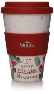 Disney's Mulan - Let Your Dreams Blossom Bamboo Travel Mug (400ml)
