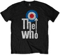 The Who - Elevated Target Men's T-Shirt - Black (Medium) - Cover