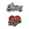 Harley Quinn - Pin Badge Set of 2 (Badge Pin Metal)