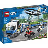 LEGO® City - Police Helicopter Transport (317 Pieces)