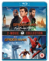 Spider-Man - Homecoming/Far from Home (Blu-ray) - Cover