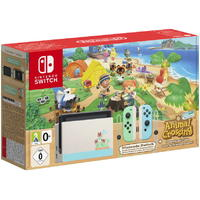 Nintendo Switch Animal Crossing Special Edition Console (Includes a Code to Download the Animal Crossing New Horizons Game)