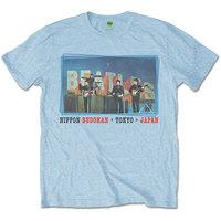 The Beatles - Nippon Budokan Men's Blue T-Shirt (Medium) - Cover
