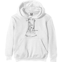 Billie Eilish - Party Favor Men's White Hoodie (Small) - Cover