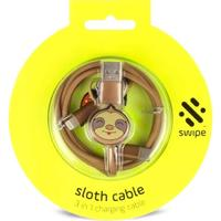 Swipe - 3-in-1 Cable - Sloth PowerLead (Charging Cable)