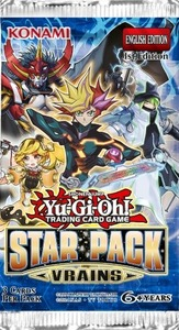 Yu-Gi-Oh! - Star Pack VRAINS Booster Bundle - 8 Boosters (Trading Card Game) - Cover