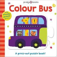 Colour Bus (Press-Out & Play) - Roger Priddy (Board Book)