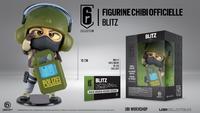 Tom Clancy's Rainbow Six Chibi Collection - Blitz (Figurine) (Series 4) - Cover