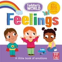 Toddler's World: Feelings - Pat-a-Cake (Board Book) - Cover