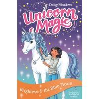 Unicorn Magic: Brighteye and the Blue Moon - Daisy Meadows (Paperback)