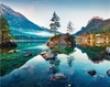 Hinkler - Hintersee Lake, Germany Puzzle (1000 Pieces)