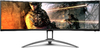 AOC 49 inch Curved LED Monitor - 5120 x 1440 pixels - Black & Silver