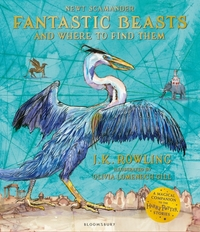 Fantastic Beasts & Where to Find Them (Illustrated Edition) - J.K. Rowling (Paperback)