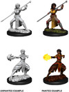 Dungeons & Dragons - Nolzur's Marvelous Unpainted Miniatures - Female Half-Elf Monk (Miniatures)