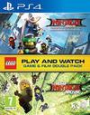 The LEGO Ninjago Movie: The Videogame & The LEGO Ninjago Movie (Blu-Ray) Double Pack (PS4)