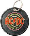 AC/DC - Est. 1973 Printed Patch Keychain