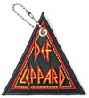 Def Leppard - Tri Logo Woven Patch Keychain Cover