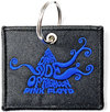 Pink Floyd - Dark Side of the Moon Swirl Woven Patch Keychain Cover