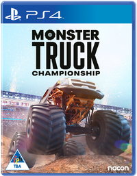Monster Truck Championship (PS4) - Cover
