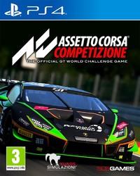 Assetto Corsa Competizione (PS4) - Cover