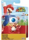 "Nintendo - 2.5"" Super Mario Blue Toad Figure"