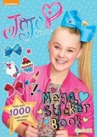 Jojo Mega Sticker Book - Centum Books Ltd (Paperback) - Cover