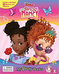 Disney  Fancy Nancy: My Busy Books - Phidal Publishing Inc. (Board Book) - Cover