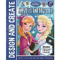 Frozen: Design & Create Sketchpad - Disney (Paperback)