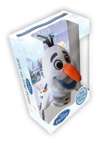 Frozen: Olaf Book & Hand Puppet Box - Disney (Hardback) - Cover