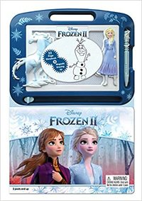 Disney Frozen II: Learning Series - Phidal Publishing Inc. (Board Book) - Cover