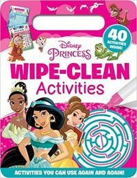 Princess Wipe Clean Activities - Disney (Hardback) - Cover